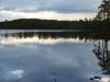 Beautiful view onto a larger lake.